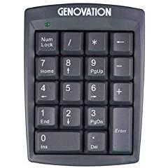 Genovation 633/632/631 Key Pad Cover