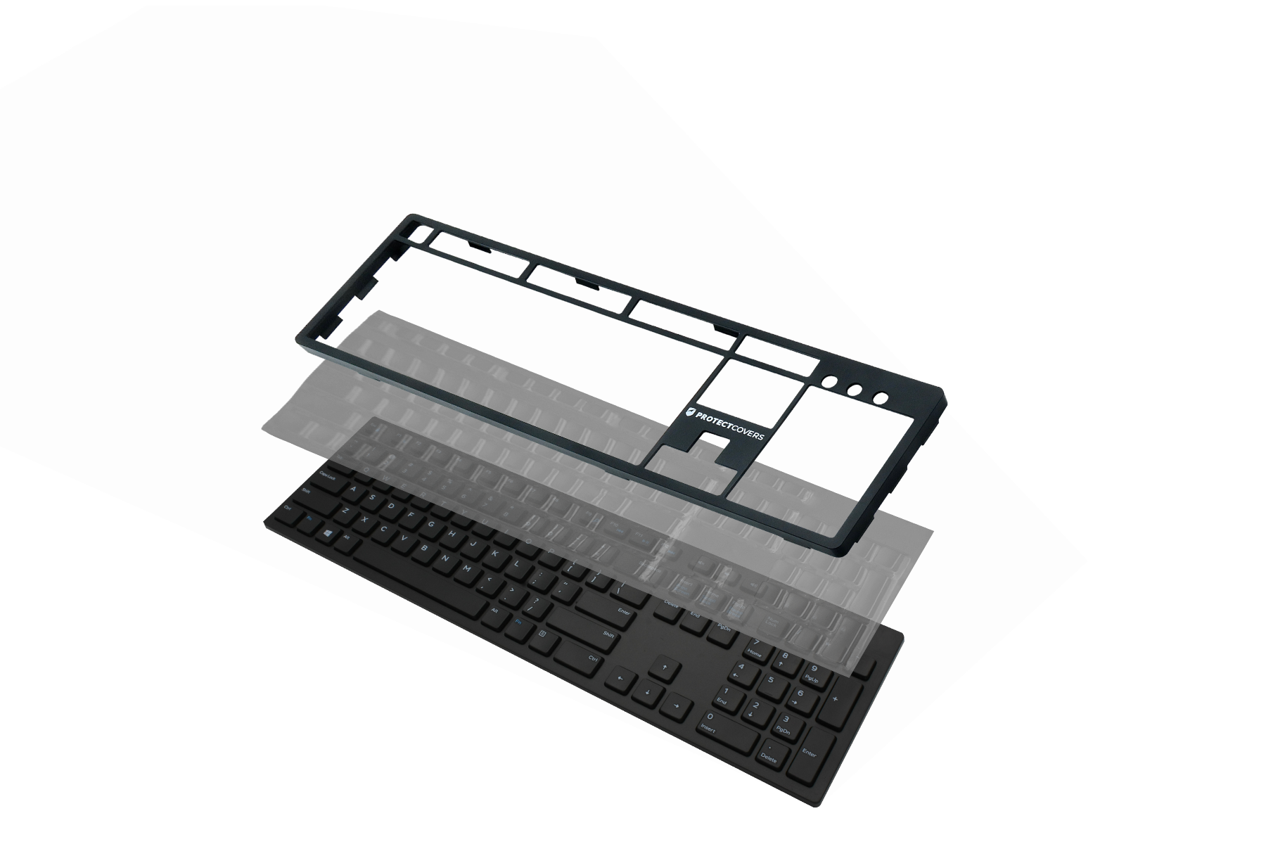 EasySwap Frame and Cover for DELL KB216 Keyboard