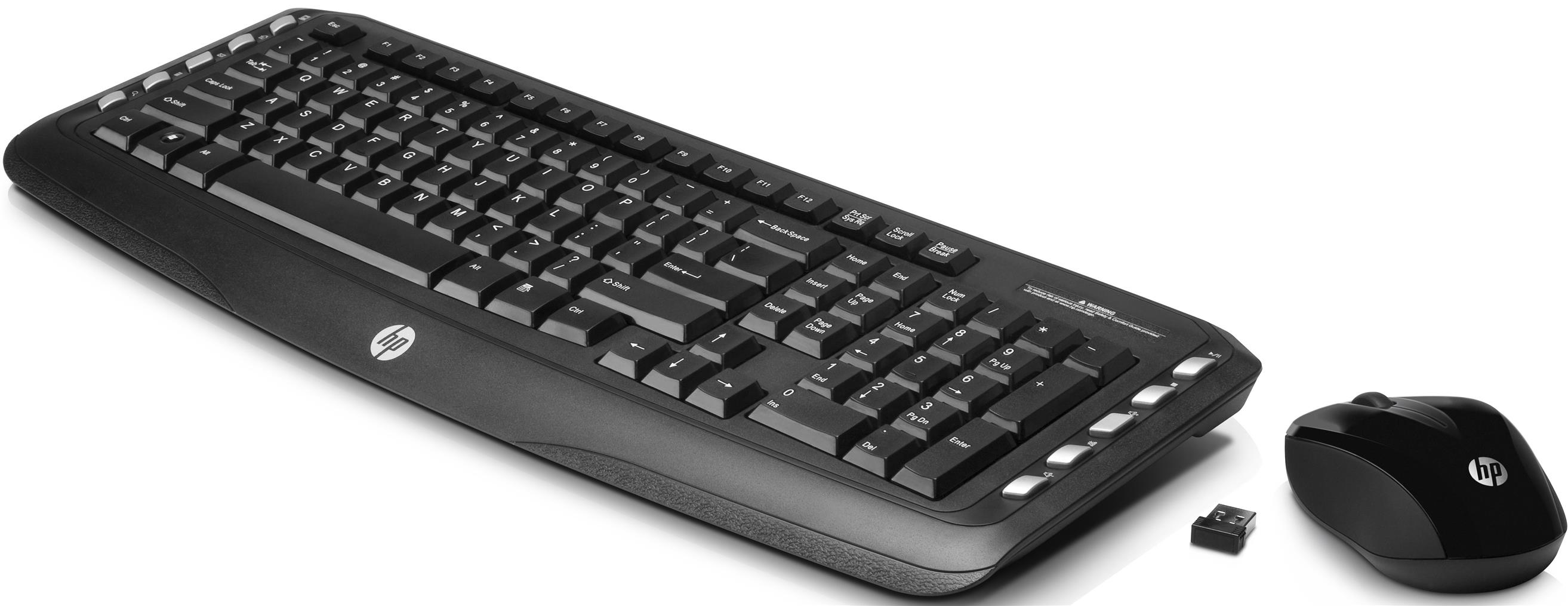 HP LV290AA#ABA Wireless Desktop Combo Keyboard & Mouse Cover (G33M)