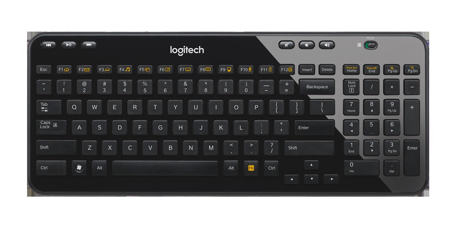 Logitech K360 /  MK360 / Y-R0017 Keyboard Cover